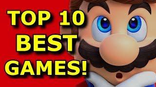 TOP 10 BEST Games of 2017!