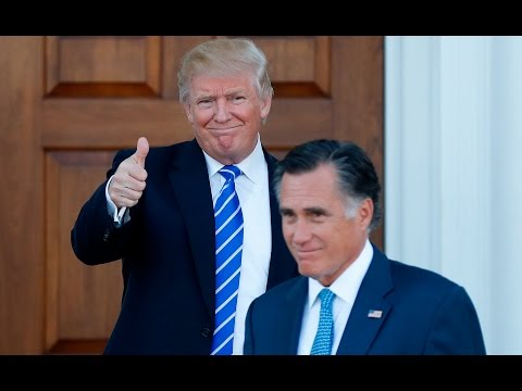 Mitt Romney changed his opinion of Donald Trump