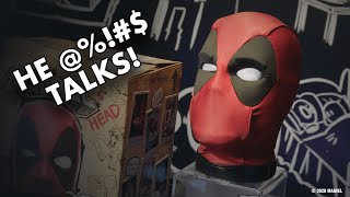 Deadpool's Head from Hasbro Really @%!#$ Talks!
