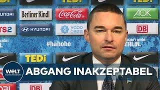 HERTHA BSC: Windhorst wirft Klinsmann aus Aufsichtsrat