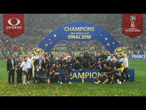 Francia, el campeón del mundo | Mundial Rusia 2018 | Televisa Deportes
