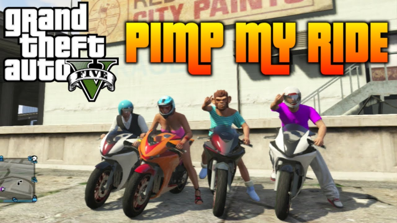 GTA 5 - Pimp My Ride #46 | Dinka Double-T (Honda CBR1000RR ...