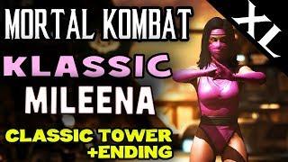 MK XL. Ravenous Mileena (Klassic). Klassic Tower and story ending! (Full HD 1080p)
