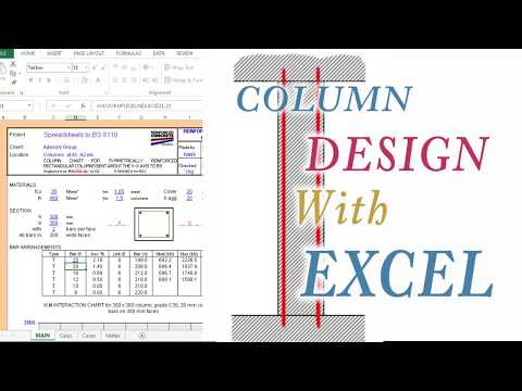 Column Design with Excel - Concise Info