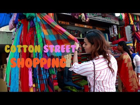 Street shopping in Chennai (cotton street)Guide+ Haul