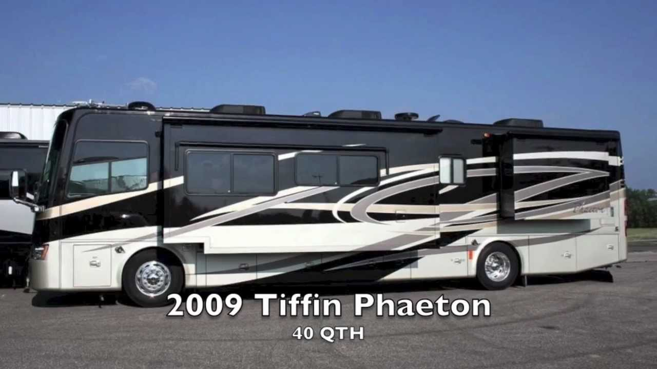 Used 2009 Tiffin Phaeton 40 Qth Diesel Motorhome For Sale