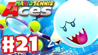 Mario Tennis Aces - Gameplay Walkthrough Part 21 - Boo! Online Tournament! (Nintendo Switch)