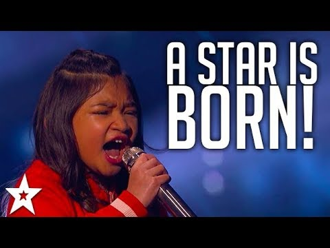 Angelica Hale Pulls Out An Amazing Vocal | America's Got Talent 2017