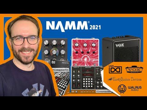 NAMM 2021 : Walrus Audio et Earthquaker sortent des pédales de réverbes et UVI ressuscite un synthé.