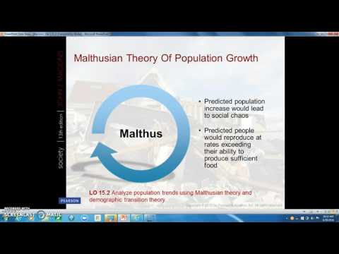 Chapter 15:  Population, Urbanization, and Environment