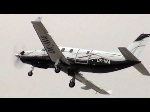 Prototype Aero Ae270 Ibis (Spirit) - Turboprop General Utility Aircraft - Rare Flight Display