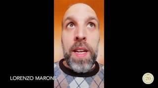 Lorenzo Marone per i nostri vent'anni