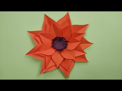 easy-and-beautiful-paper-flowers-|-paper-craft-|-diy-home-decor-#3