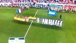 National anthems of honduras and french guiana 2017 gold cup