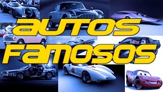 Los autos famosos del cine y algunos otros por su trayectoria.