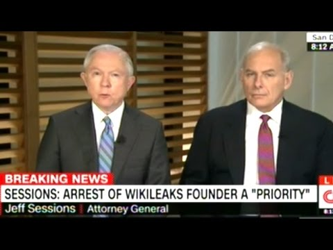 Attorney General Sessions Ready To Arrest WikiLeaks Founder Julian Assange!
