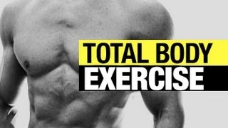 """1 Total Body Exercise to Test Your """"ATHLETIC"""" STRENGTH!"""