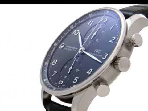 IW371438, IWC Portuguese Chrono Automatic Steel Mens Watch IW371438