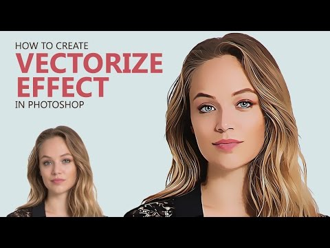 Photoshop Tutorial : Create Vector Painting Effect [Photoshopdesire.com]