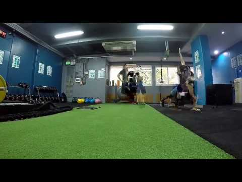 Circuit training at 360 Fitness Club Manila