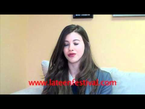 Kalia Prescott talks about shooting The Hunger Games