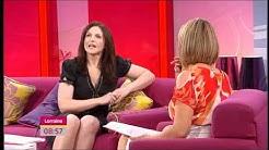 Dervla Kirwan on Lorraine Kelly 26 July 2011