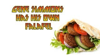 Gene Simmons has his own falafel - Preston & Steve's Daily Rush