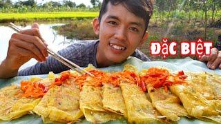Bắt Cá Làm Mâm Bánh Xèo Đặt Biệt |  Ăn Cùng Ngố Rừng