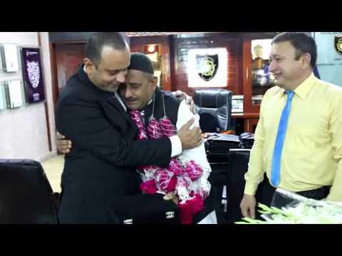 Mr. Maqsood Ahmed, Commandant   SSU, gave a memorable farewell to PC- 10601 Riaz Muhammad of SSU