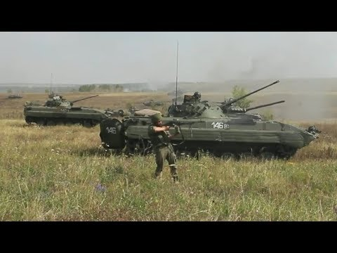 Russian Military Flexing Muscles During Live Fire Exercises
