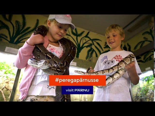 Koolivaheajal perega Pärnusse!