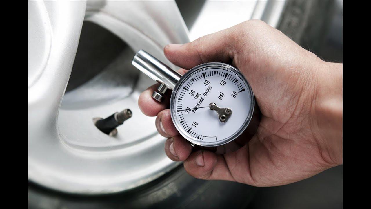 Какое должно быть давление в шинах автомобиля?