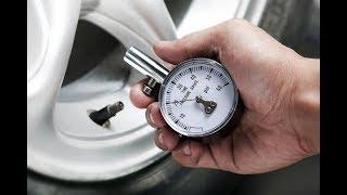 Какое должно быть давление в шинах автомобиля
