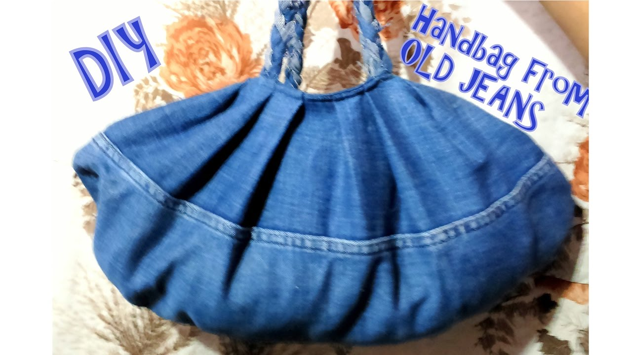 How To Make Handbag From Old Jeans Don T Waste Your Try This You