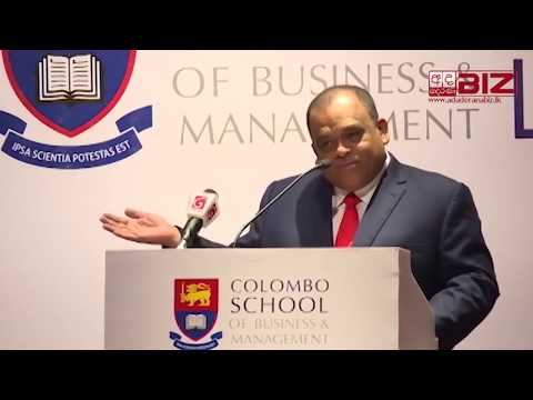 Evening with a Corporate Leader : Mr Dhammika Perera