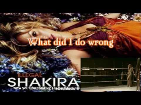 Illegal - Shakira [Karaoke/Instrumental]
