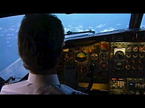 Boeing 727 out of Florida (our 1st Cockpit Film - 1993)