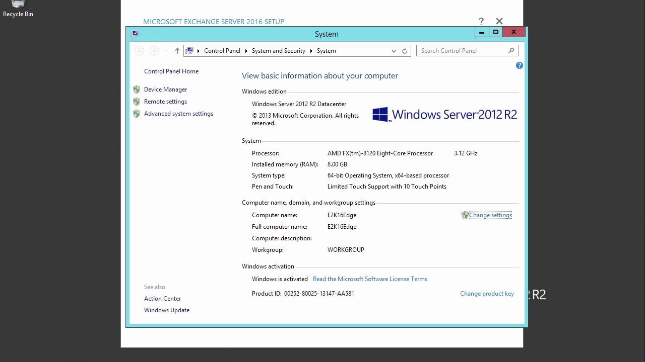 Change product key server 2016 | Convert Windows Server 2016