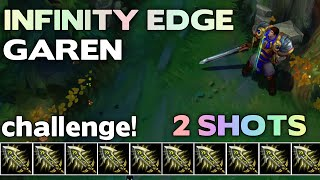 Infinity Edge Only! GAREN |#3| League of Legends