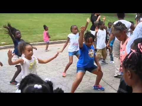 Cleveland avenue elementary Goals academy family day nuradio station