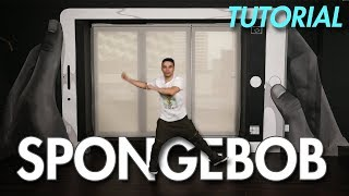 How To Do The Spongebob  (Hip Hop Dance Moves Tutorial) | Mihran Kirakosian