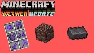 Todo Lo Que Debes De Saber De La NETHERITE/ANCIENT DEBRIS (Minecraft 1.16)