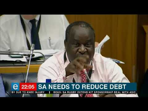 Finance Minister Tito Mboweni has issued a warning about South Africa's rising debt levels