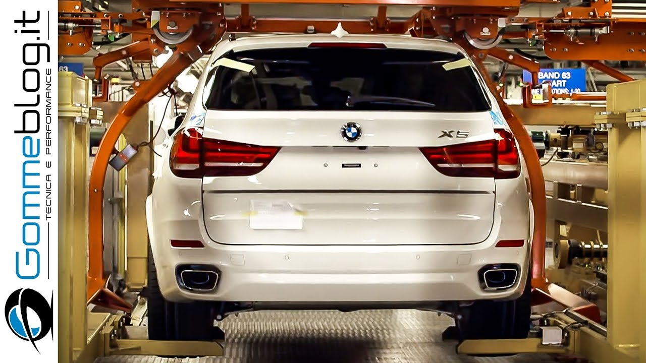 Bmw 2018 Bmw X5 X6 Car Factory How To Make A Luxury Suv Youtube