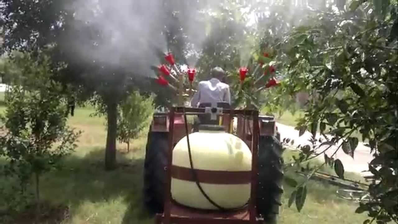 Jetstream Tractor Mounted Orchard Sprayer Youtube