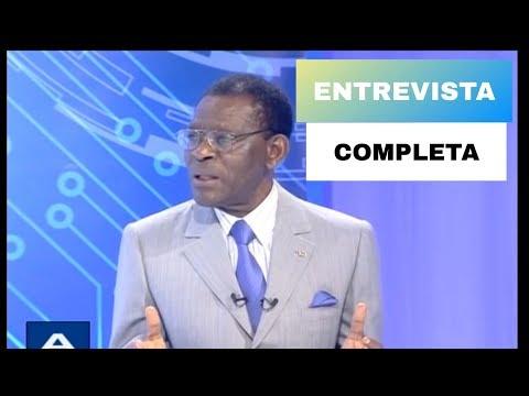 A Fondo entrevista al presidente de Guinea Ecuatorial, Teodoro Obiang Nguema