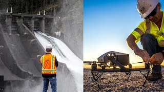 These drones make sure dams don't collapse