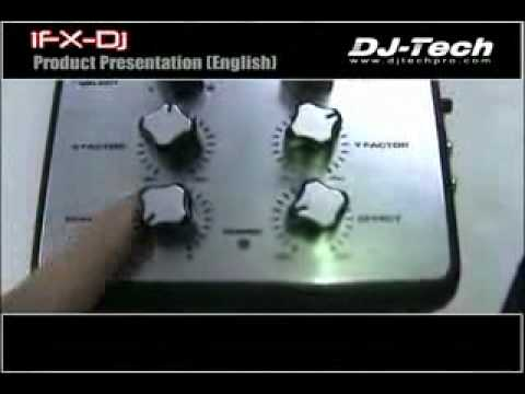 DJ-Tech IFX-DJ Mixer Ipod Dock with 8 built-in Effects.avi