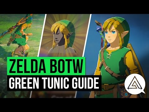 Zelda Breath of the Wild  How to Get the Iconic Green Tunic Without Amiibo