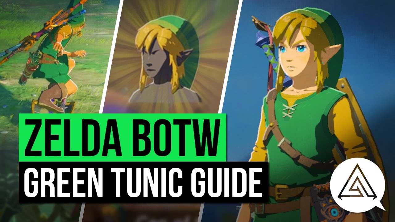 Zelda Breath Of The Wild How To Get The Iconic Green
